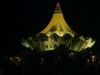 Verwaltungsgebäude bei Nacht